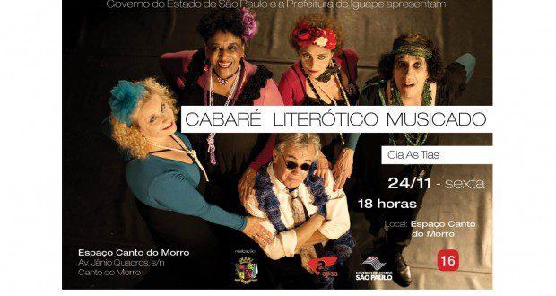 CABARÉ LITERÓTICO MUSICADO