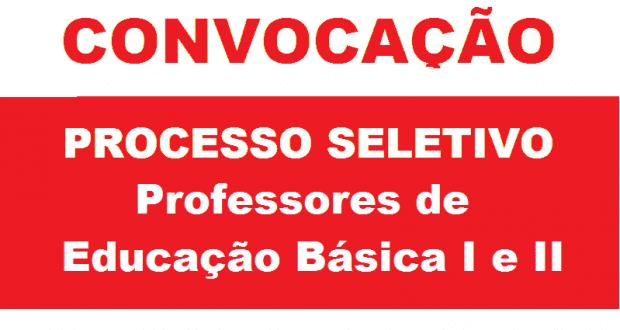 EDITAL DE CONVOCAÇÃO PROCESSO SELETIVO Nº 03