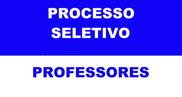 EDITAL DE PROCESSO SELETIVO – PROFESSORES