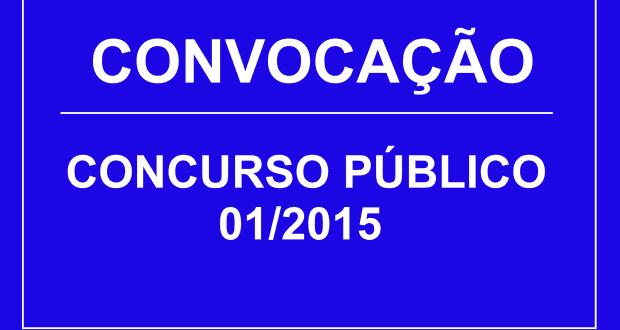 EDITAL DE CONVOCAÇÃO Nº 02/18 – CONCURSO PÚBLICO 01/2015