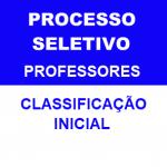 CLASSIFICAÇÃO INICIAL – PROCESSO SELETIVO SIMPLIFICADO N.º 03