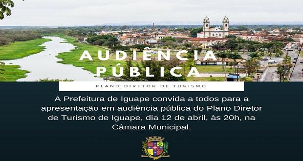AUDIÊNCIA PÚBLICA DO PLANO DIRETOR DE TURISMO