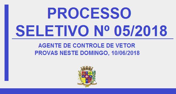 PROCESSO SELETIVO 05