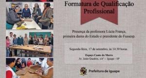 FORMATURA DE QUALIFICAÇÃO PROFISSIONAL
