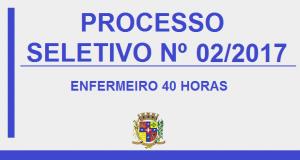 EDITAL DE CONVOCAÇÃO – PROCESSO SELETIVO Nº02