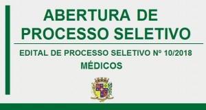 ABERTURA DE PROCESSO SELETIVO