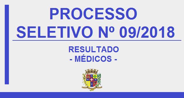 RESULTADO PROCESSO SELETIVO Nº09