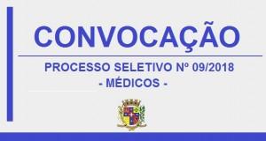 EDITAL DE CONVOCAÇÃO 30 – PROCESSO SELETIVO 09