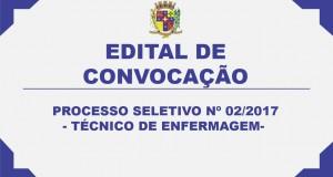 EDITAL DE CONVOCAÇÃO 36 – PROCESSO SELETIVO Nº 02