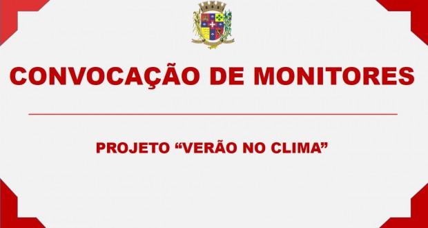 """PROJETO """"VERÃO NO CLIMA"""""""