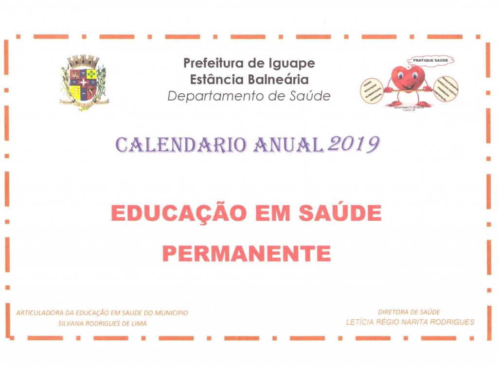 Calendário Anual 2019 001