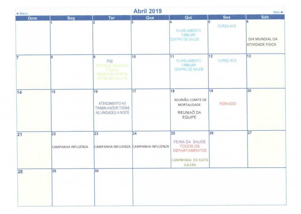 Calendário Anual 2019 005