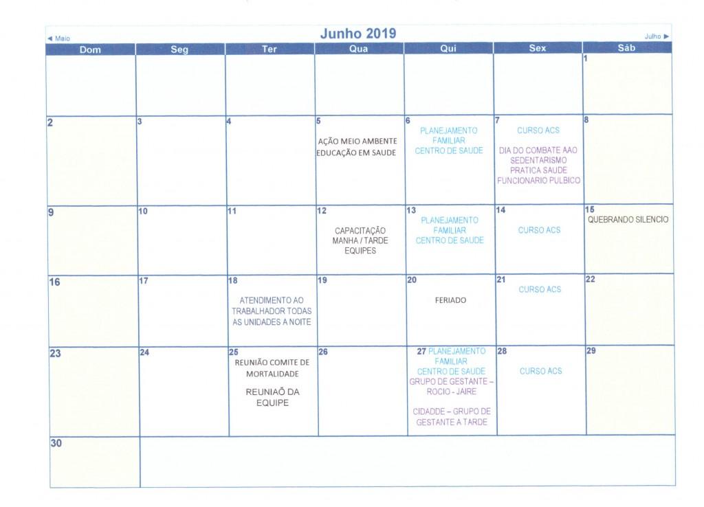 Calendário Anual 2019 007