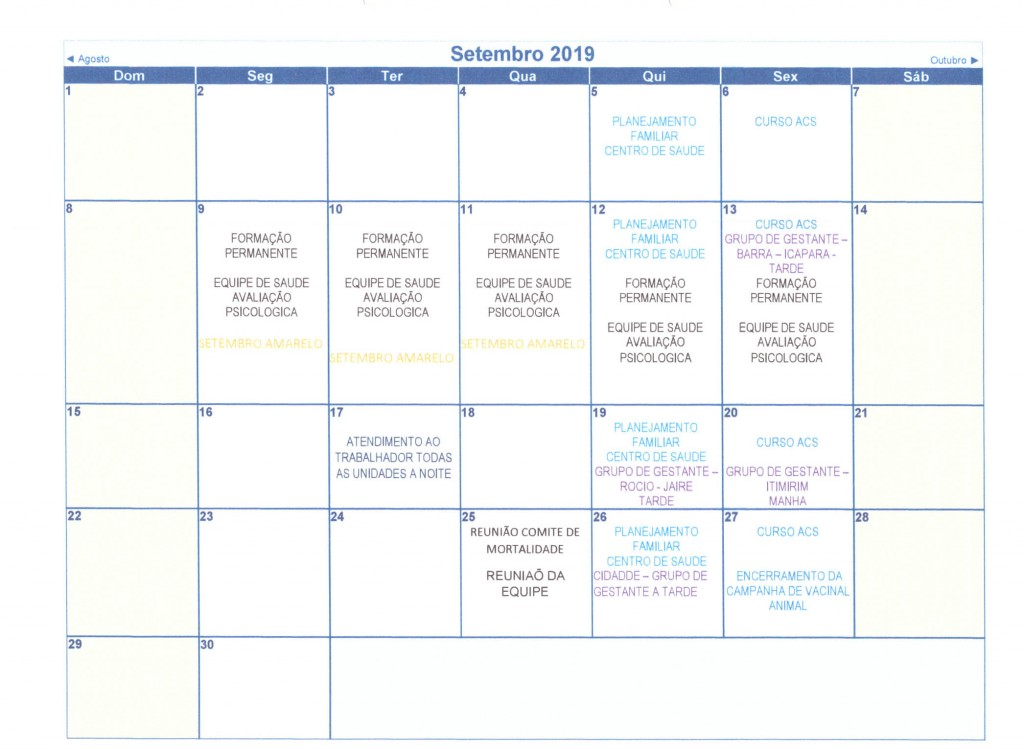 Calendário Anual 2019 010