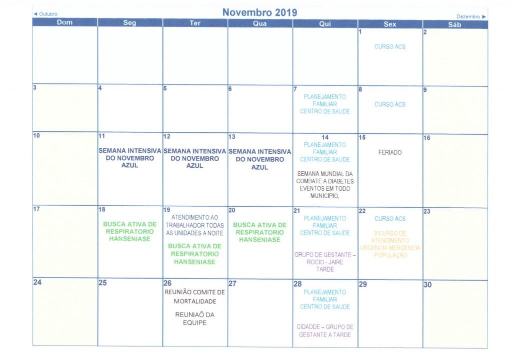 Calendário Anual 2019 012