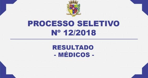 RESULTADO PROCESSO SELETIVO Nº12