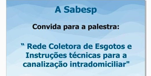 CONVITE SABESP