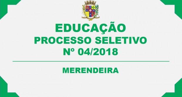 EDITAL DE CONVOCAÇÃO – PROCESSO SELETIVO Nº 04/2018