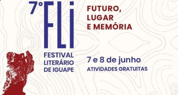 MAIS UMA EDIÇÃO DO FESTIVAL LITERÁRIO IGUAPE
