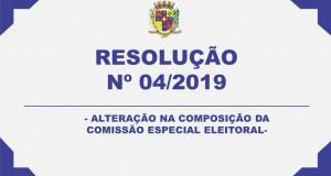 RESOLUÇÃO – 04/2019