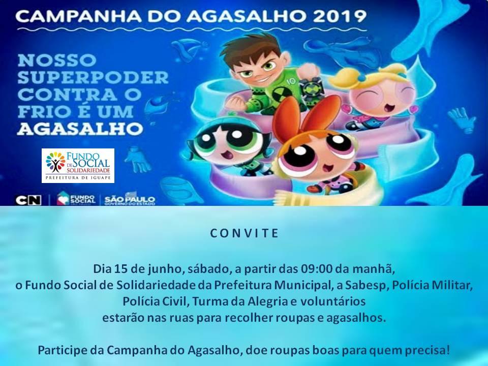 Fundo Social - Campanha Agasalho 2019