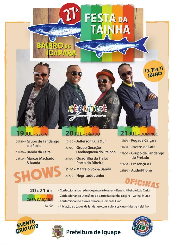 IGUAPE - FESTA da TAINHA Cartaz - 002