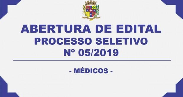 ABERTURA DE EDITAL – PROCESSO SELETIVO Nº. 05/2019