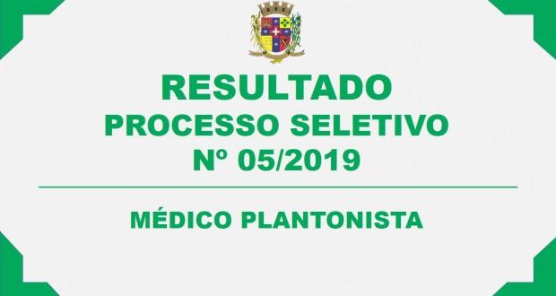 CONVOCAÇÃO – PROCESSO SELETIVO Nº 05/2019