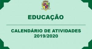 CALENDÁRIO DE ATIVIDADES 2019/2020
