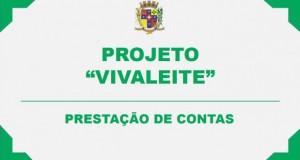 """PROJETO """"VIVALEITE"""" – PRESTAÇÃO DE CONTAS DE JANEIRO"""